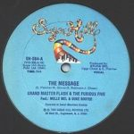 Grandmaster Flash and the Furious Five: The_Message (singl z roku 1982, Sugar Hill Records