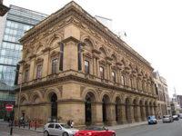 Městská The Free Trade Hall v Manchesteru