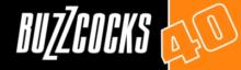 Logo ke 40. výročí Buzzcocks