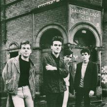 Portrét The Smiths z vnitřní obálky LP The Queen Is Dead