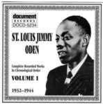 St. Louis Jimmy: Complete Recorded Works In Chronological Order, Volume 1 (1932 To 1944) - (1994, Document Records)