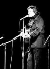 Johnny Cash v pražské Sportovní hale v roce 1978