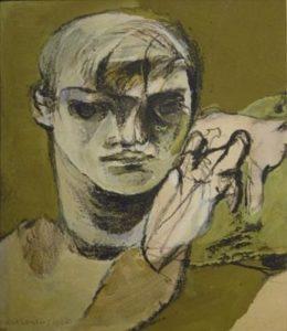Keith Vaughan: Head of A Boy (1946)