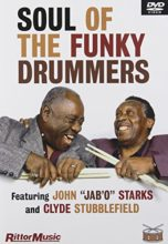 "DVD Video - Soul Of The Funky Drummers Featuring John ""Jab'O"" Starks and Clyde Stubblefield (1999, Rittor Music)"