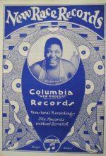 Reklamní kampaň Columbia Records na jejich specializovanou řadu nahrávek New Race Records