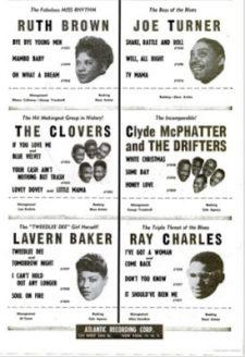 Atlantic Records poskytly masivní mediální podporu svým hvězdám na začátku roku 1955