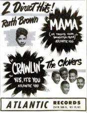 Reklama v březnu 1953 v magazínu Billboard