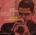 V Itálii vydaný singl Cheta Bakera Chetty's Lullaby (1962, RCA Victor)