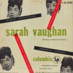 Desetipalcové album Sarah Vaughan With George Treadwell And His All Stars (1950, Columbia Records)