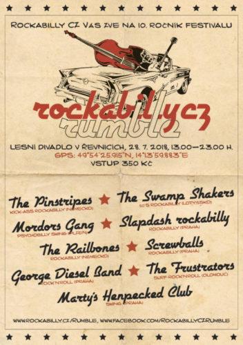 Rockabilly CZ Rumble 2018 (copyright Rockabilly.cz, Petr Židlický)