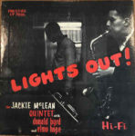 Jackie McLean Quintet With Donald Byrd And Elmo Hope: Lights Out! (1956, Prestige Records)