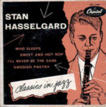 EP deska Stan Hasselgard: Classics In Jazz (1954, Capitol Records)