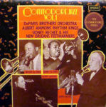 De Paris Brothers Orchestra - Albert Ammons Rhythm Kings - Sidney Bechet & His New Orleans Feetwarmers: Commodore Jazz Vol.1 (1975, London Records)