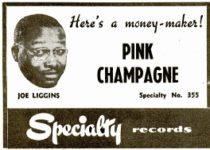 Reklama na další milionový hit Pink Champagne v podání Joea Ligginse
