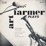 Desetipalcové album Art Farmer Plays (1955, Prestige Records)