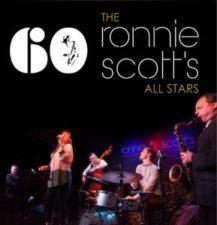 Domácí klubová kapela Ronnie Scott's All Stars na oficiciálním plakátu k 60. výročí existence klubu