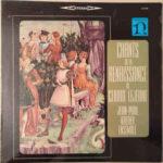 Jean-Paul Kreder Ensemble: Chants De La Renaissance De Claude Lejeune (1964, Nonesuch Records)