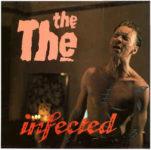 Původní návrh obalu LP desky The The: Infected (1986, Some Bizzare Records)