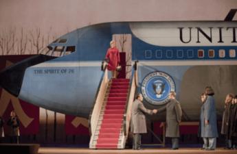 Inscenace opery Johna Adamse Nixon In China