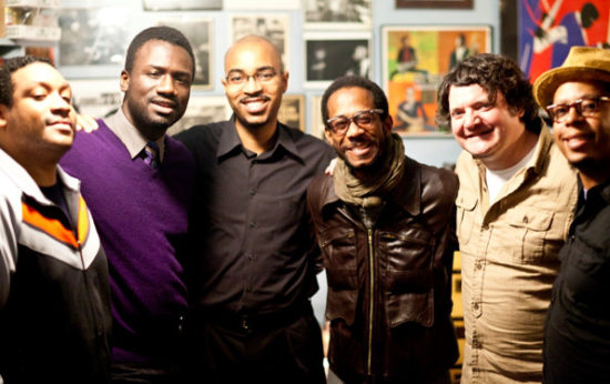 Brian Blade s přáteli z The Fellowship Bandu