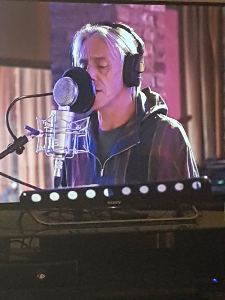 Paul Weller během studiových prací na albu On Sunset (photo by @paulwellerHQ)