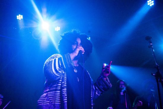 Akenya Seymour v Double Door, Chicago, IL, Feb 3, 2016 (Photo by Kaina Castillo)