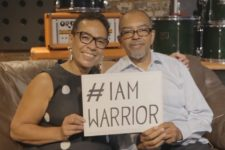 Zakladatelé Tomorrow's Warriors Janine Irons, MBE a Gary Crosby, OBE