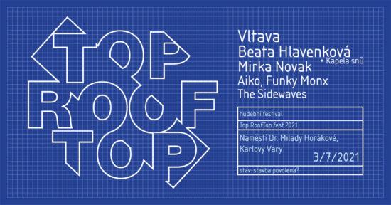 Program šestého ročníku karlovarského multižánrového festivalu Top RoofTop