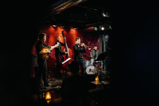 Alf Carlsson/Jiří Kotača Quartet ve smíchovském Jazz Docku 20. listopadu 2019 by Jonatan Jan