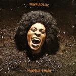 Přední strana původního vinylového vydání alba Maggot Brain od skupiny Funkadelic z roku 1971 na značce Westbound Records