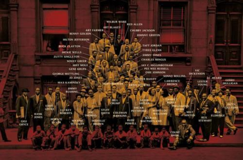 A Great Day in Harlem, kdo je kdo (photo by Art Kane)