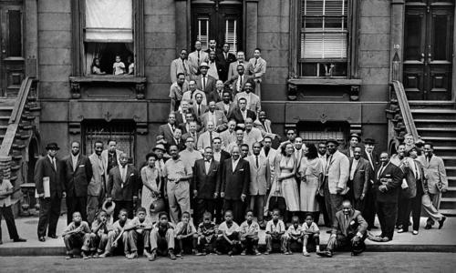 A Great Day in Harlem (photo by Art Kane)